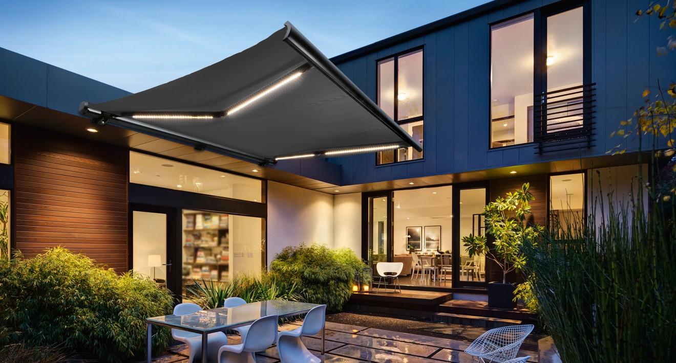 perfekter sonnenschutz f r balkon terrasse und garten. Black Bedroom Furniture Sets. Home Design Ideas