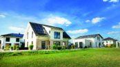 Die grüne UNGER-Park Musterhausausstellung in den Havelauen