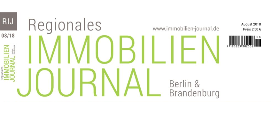 Regionales Immobilien Journal Berlin & Brandenburg August 2018