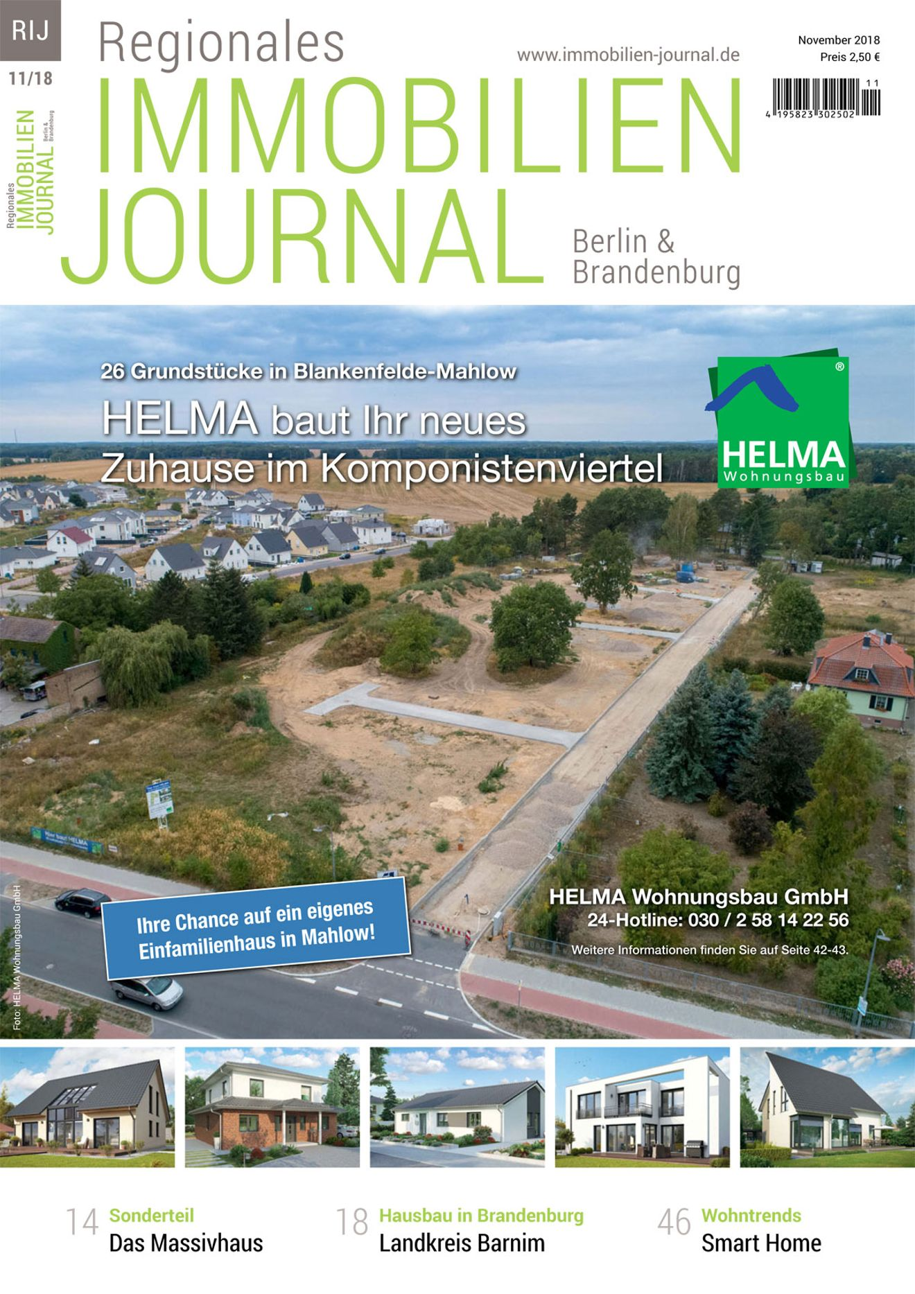 Regionales Immobilien Journal Berlin & Brandenburg November 2018