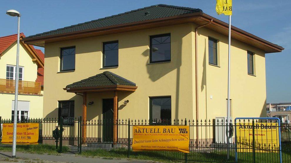 Musterhaus Michendorf - Aktuell Bau