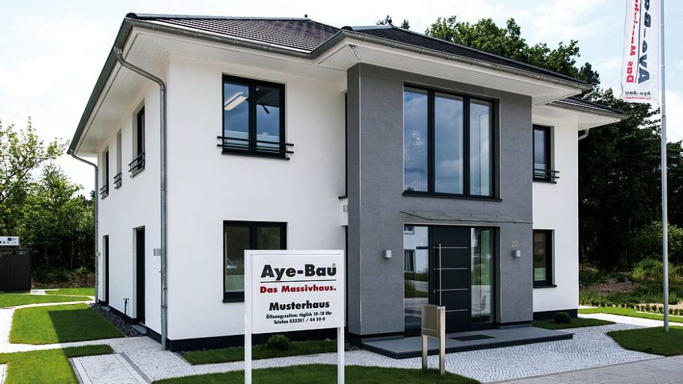 Musterhaus Potsdam - Aye-Bau