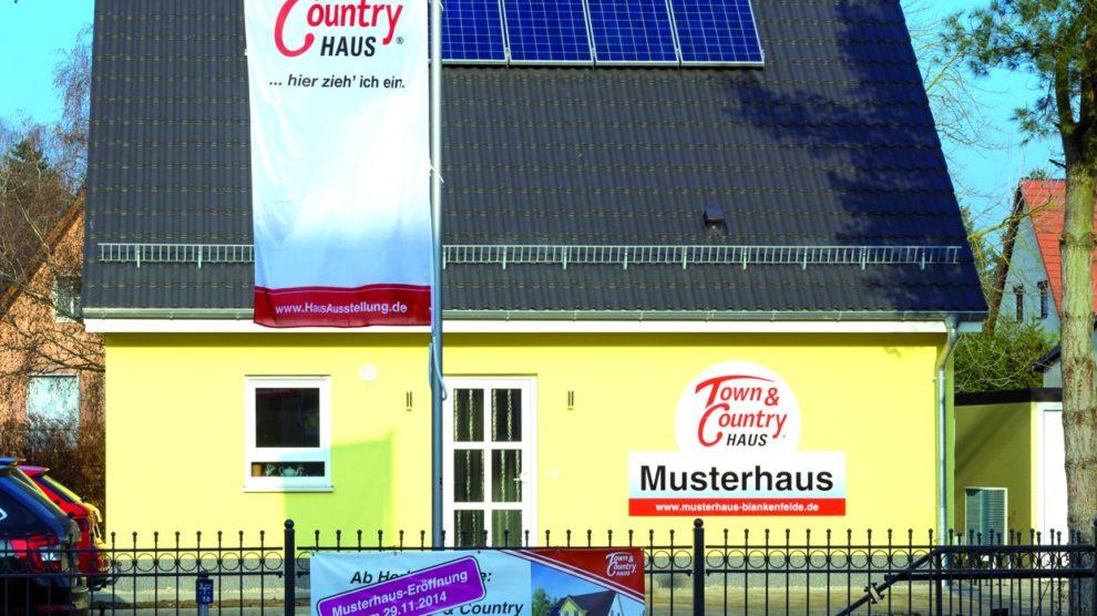 Musterhaus Blankenfelde Flair 113 - Town & Country