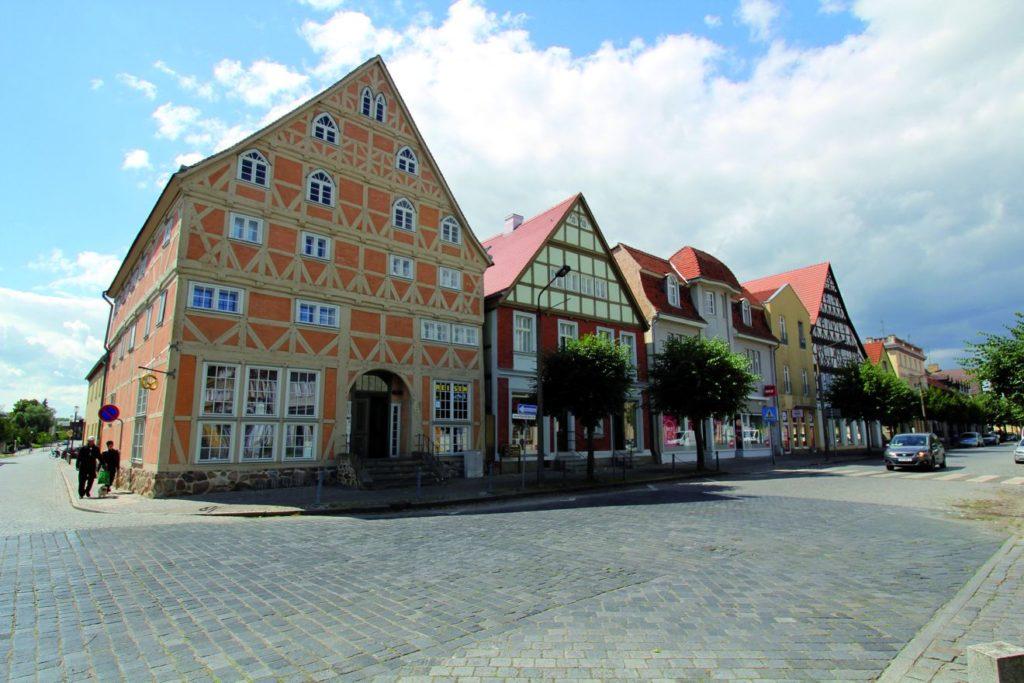 Denkmalgeschütztes Marktplatzensemble in Kyritz - Maschinenjunge CC BY-SA 3.0 de von Wikimedia Commons