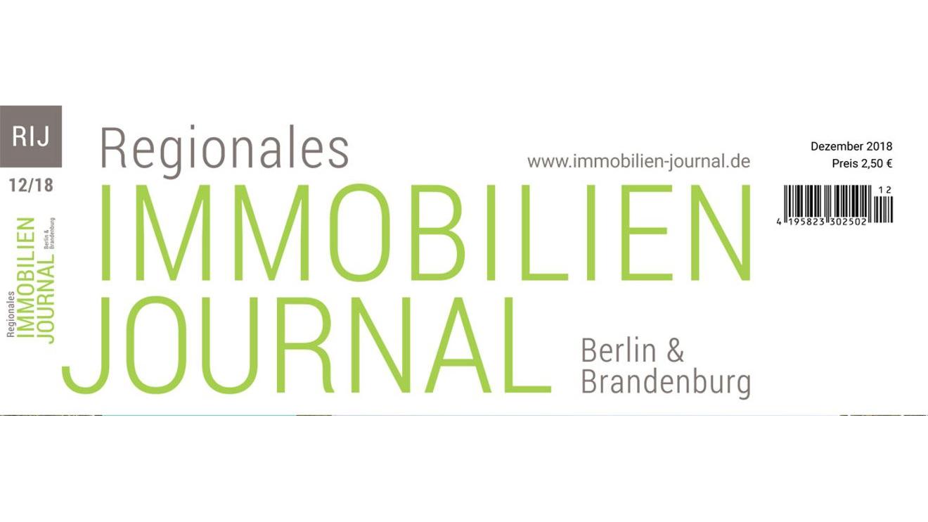 Regionales Immobilien Journal Berlin & Brandenburg Dezember 2018