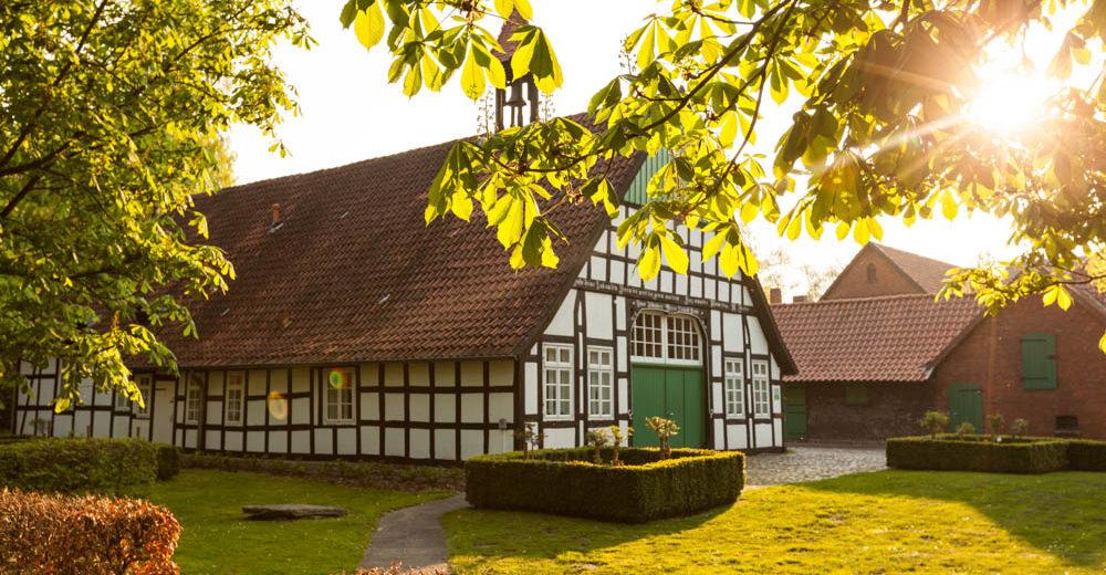 Bauernhaus als Fachwerkhaus