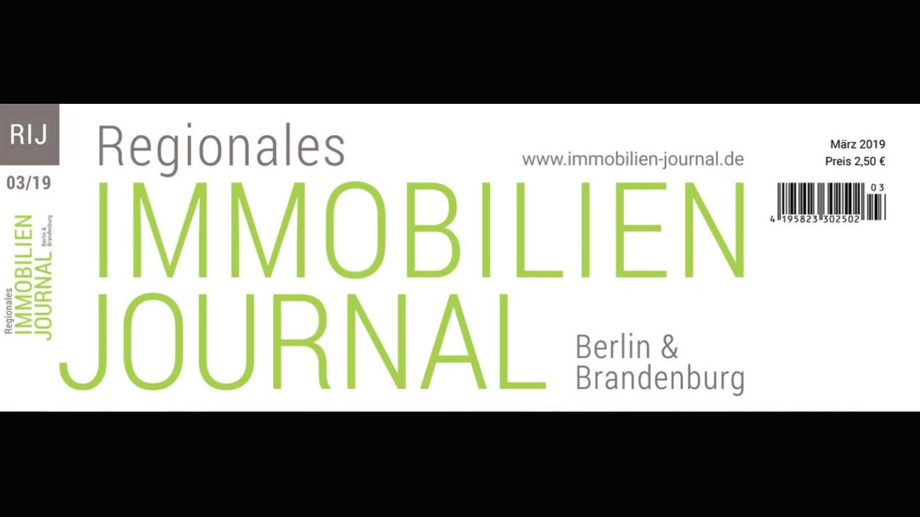 Regionales Immobilien Journal Berlin & Brandenburg März 2019