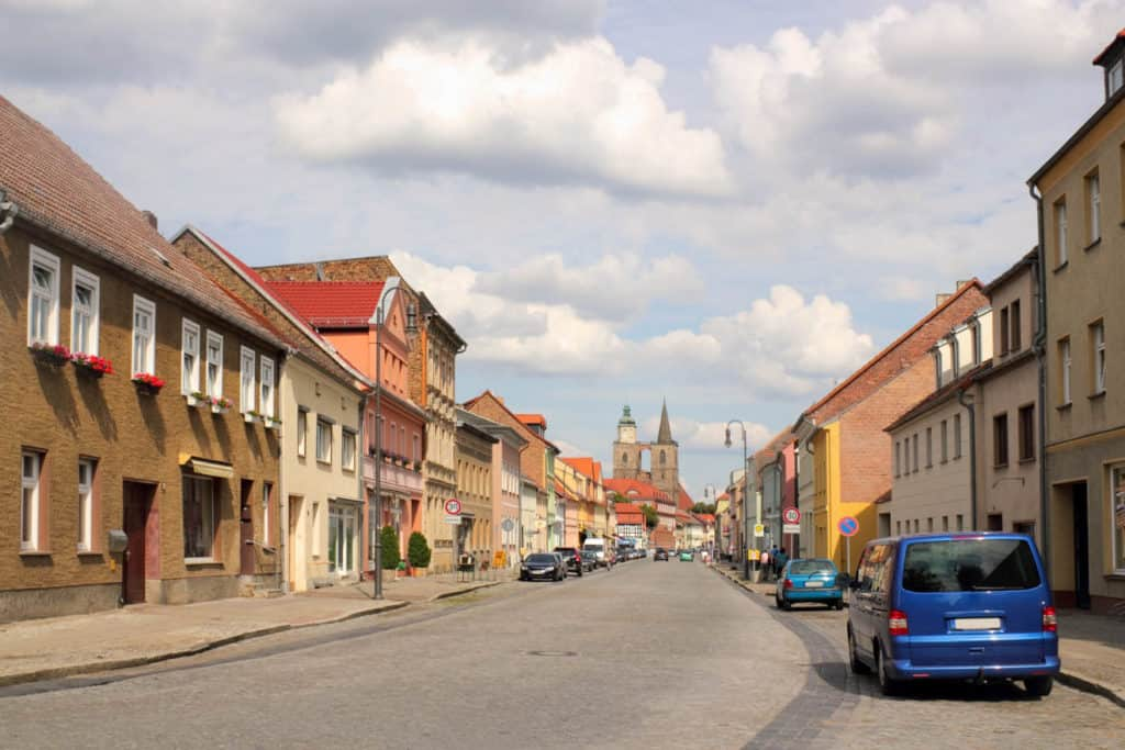 Jüterbog im Landkreis Teltow-Fläming