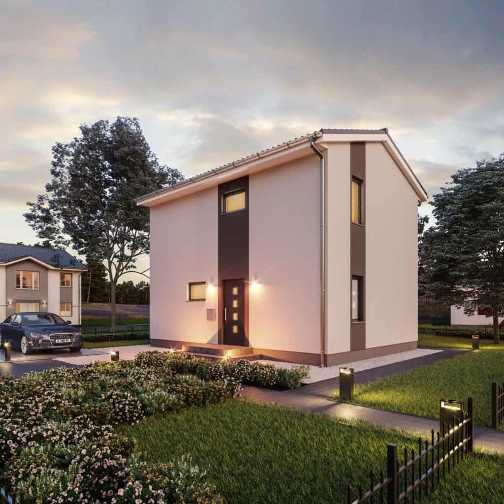 Vollwert-Wohnen unterm Satteldach: Haus Fehmarn Bilder/Grafiken: Roth-Massivhaus