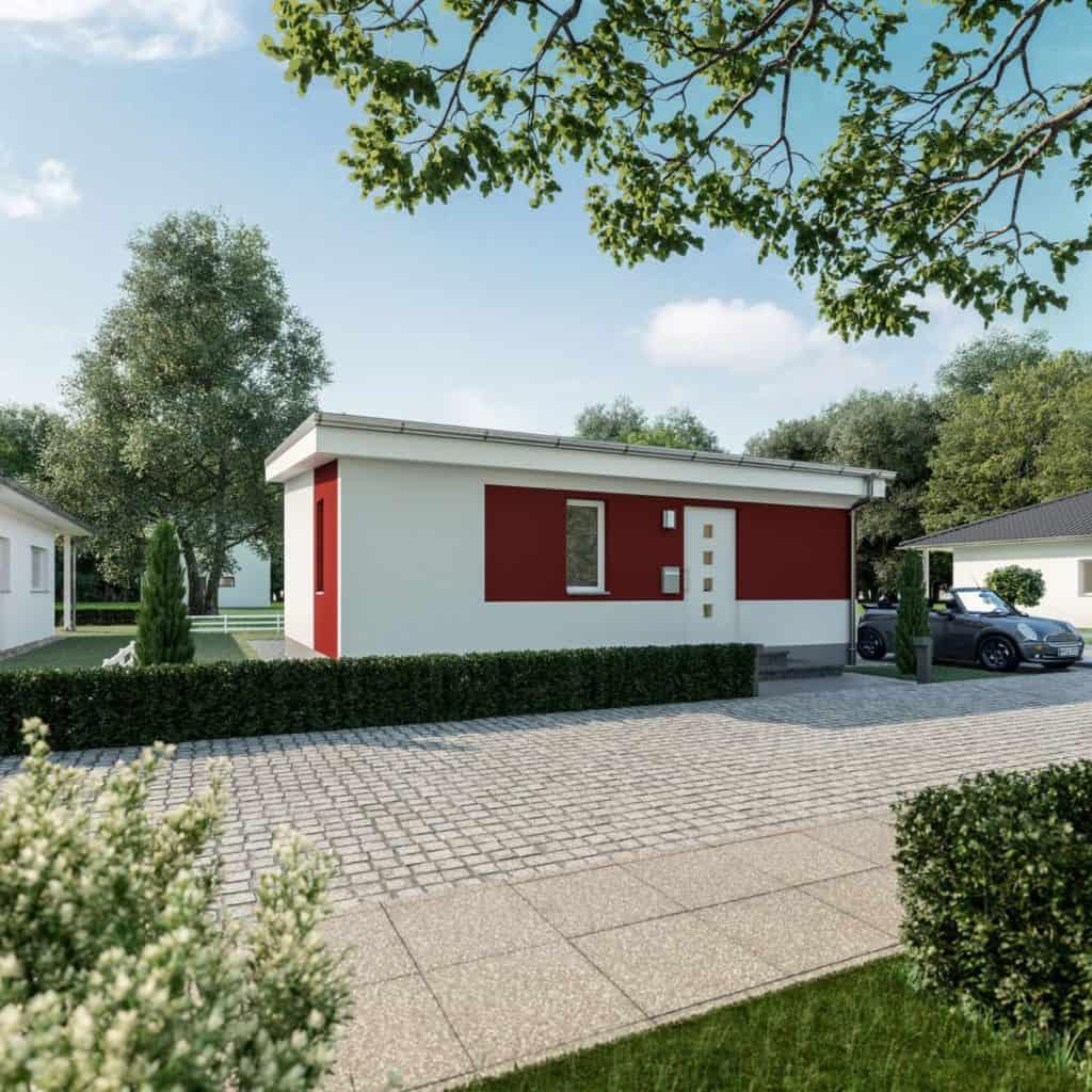 Rechteckig, praktisch, gut - Haus Hiddensee