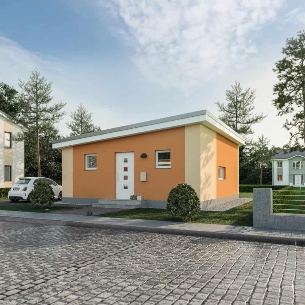 Klein, fein, mein: Haus Poel Bilder/Grafiken: Roth-Massivhaus