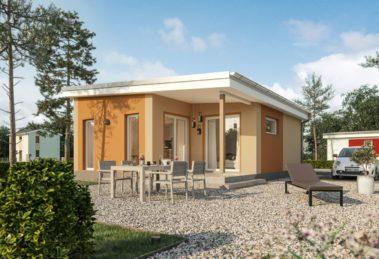 Gartenseite Haus Poel Bilder/Grafiken: Roth-Massivhaus