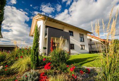 Ein gepflegter Garten macht das Eigenheim noch attraktiver.