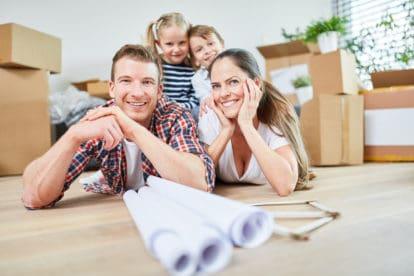 Bei der Hausplanung sollte auch schon zukünftiger Familienzuwachs berücksichtigt werden