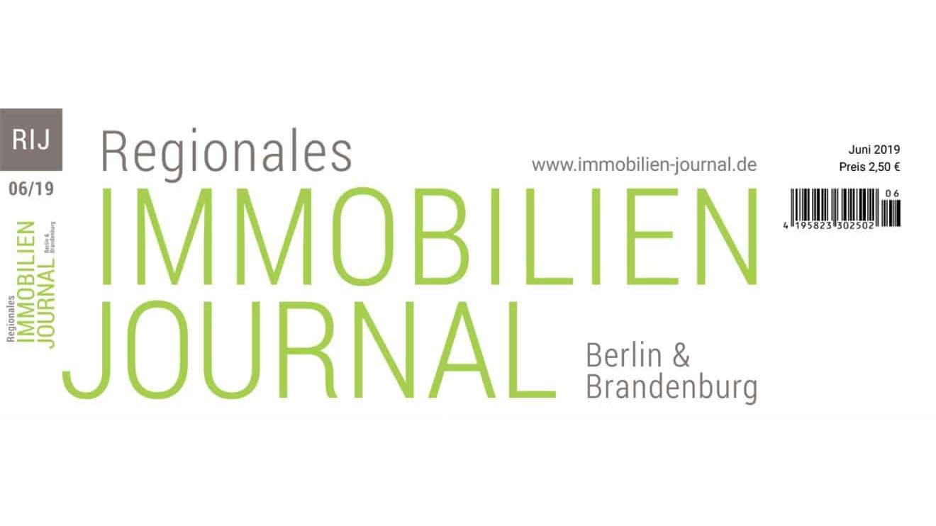 Regionales Immobilien Journal Berlin & Brandenburg Juni 2019