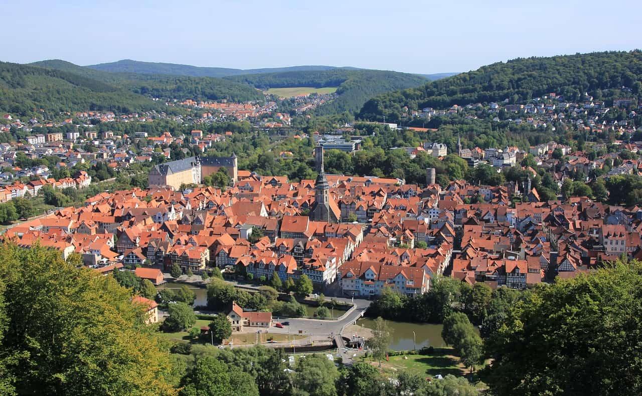 Kleinstadt in Deutschland