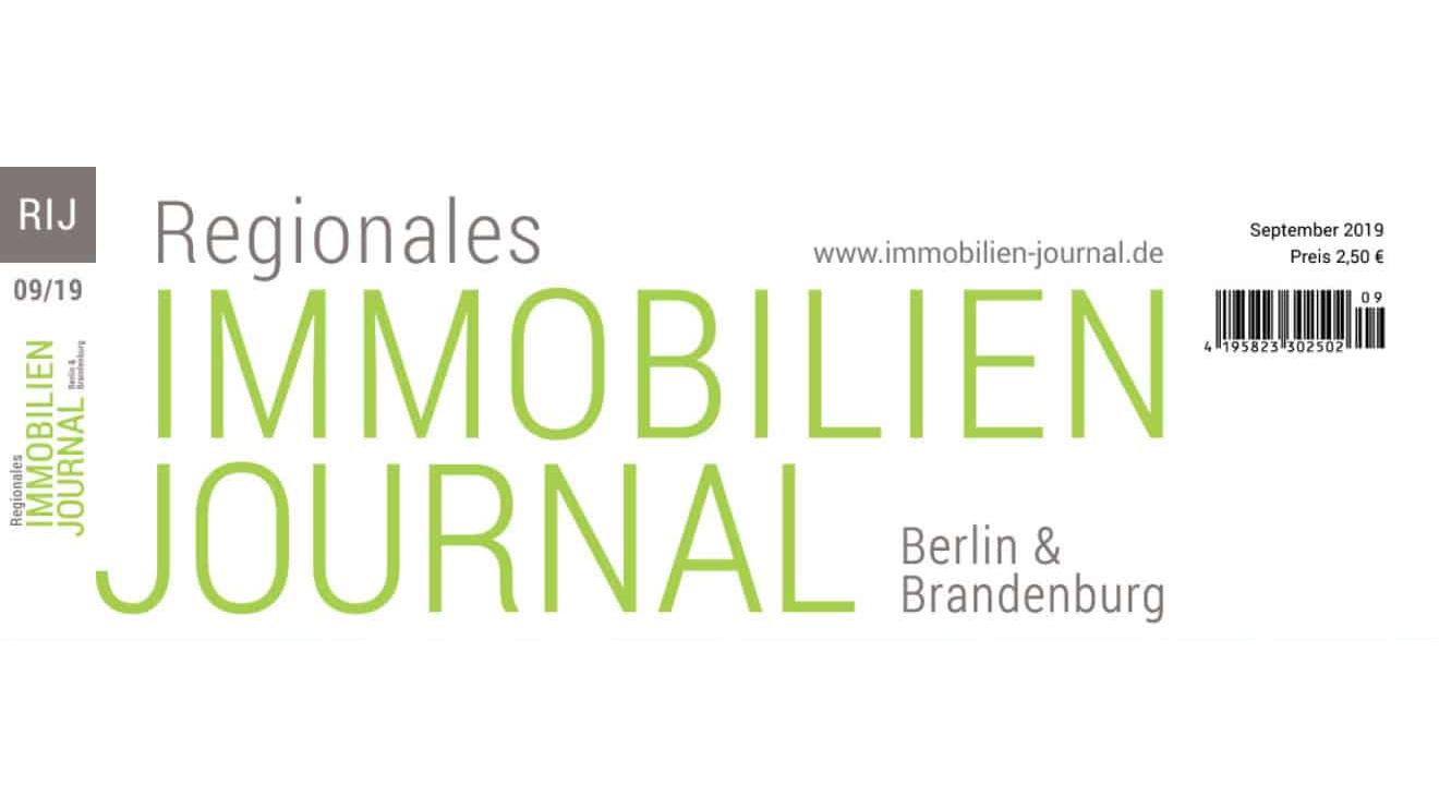 Regionales Immobilien Journal Berlin & Brandenburg September 2019