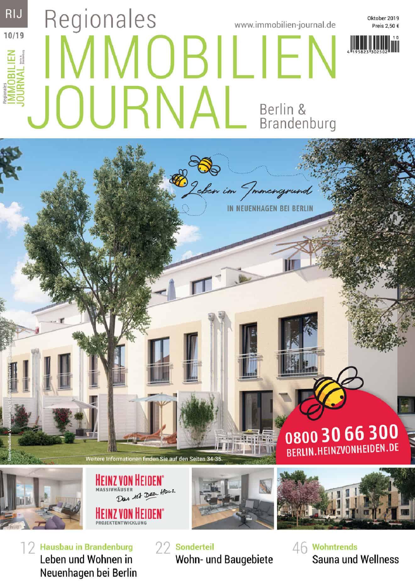 Regionales Immobilien Journal Berlin & Brandenburg 10-2019