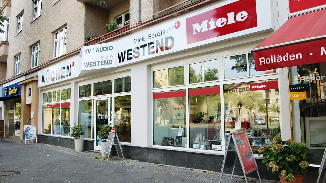 Ihr Miele-Spezialist Westend: Charlottenburger Reichsstraße © MH, RIV