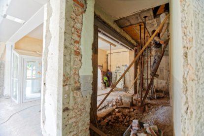 Sanierung im Haus