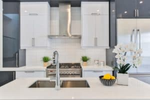 moderne Küchenarmatur