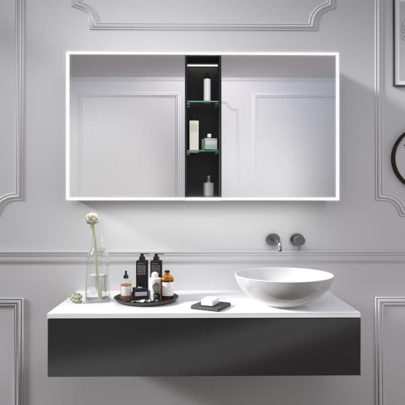 Hochwertiger Spiegelschrank