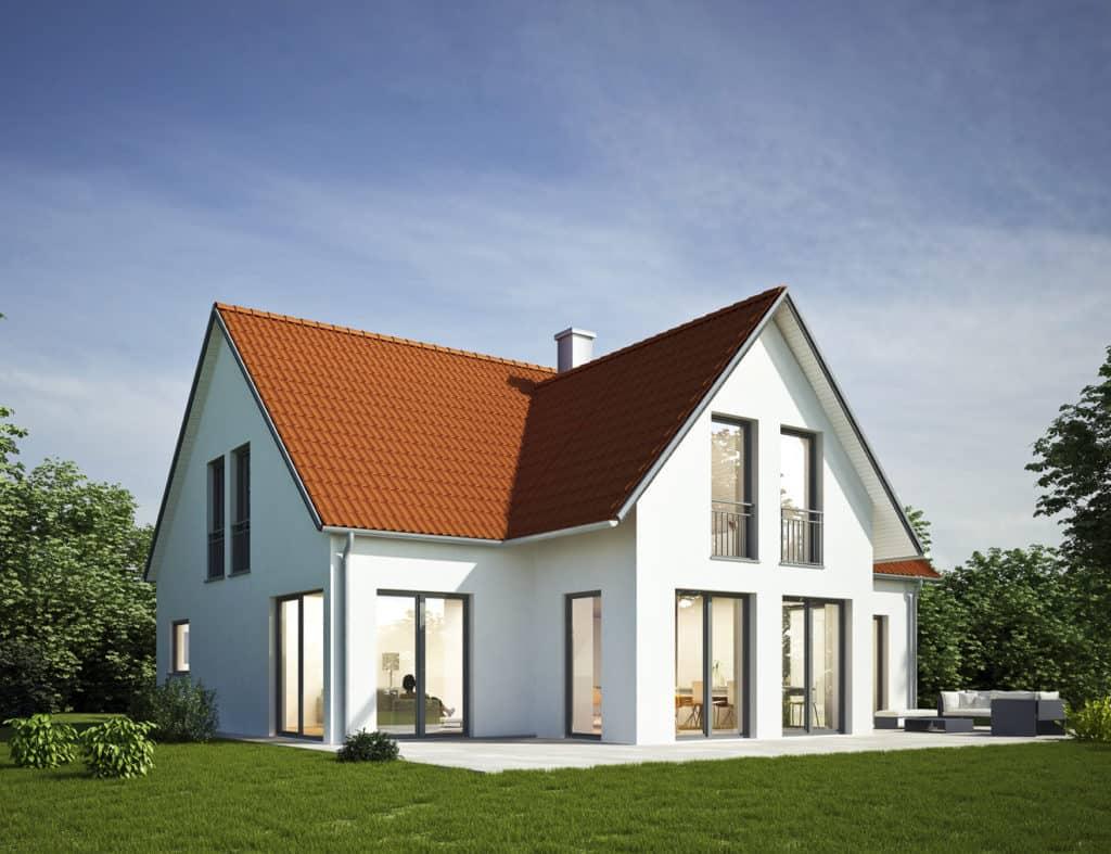 Klassische Einfamilienhäuser werden immer noch am häufigsten gebaut