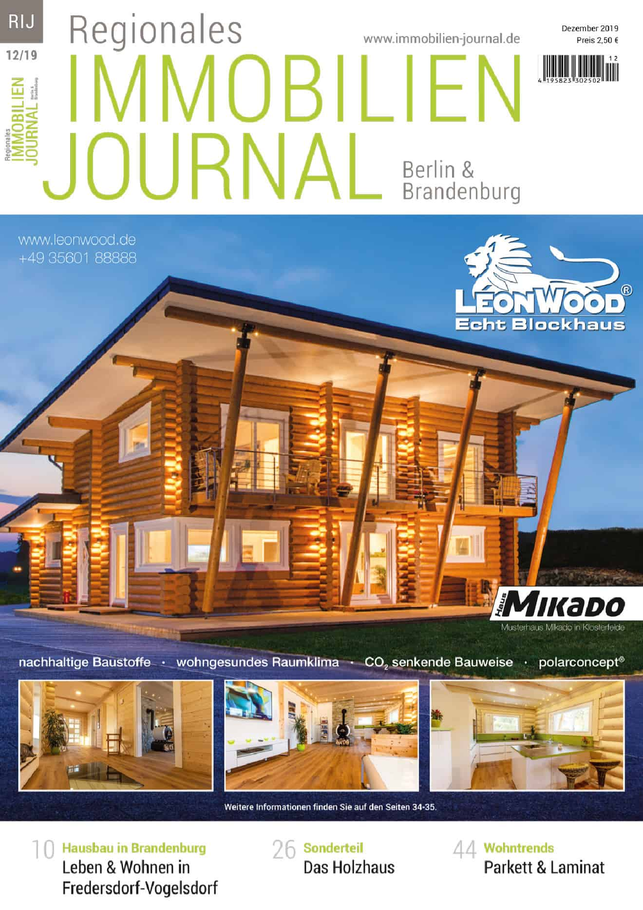 Regionales Immobilien Journal Berlin & Brandenburg 12-2019
