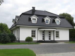 Eigenheim mit Mansarddach