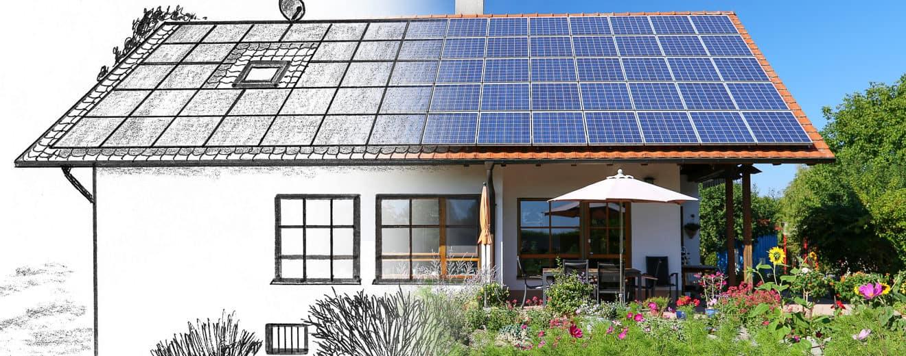 Planung eines ökologischen Hauses