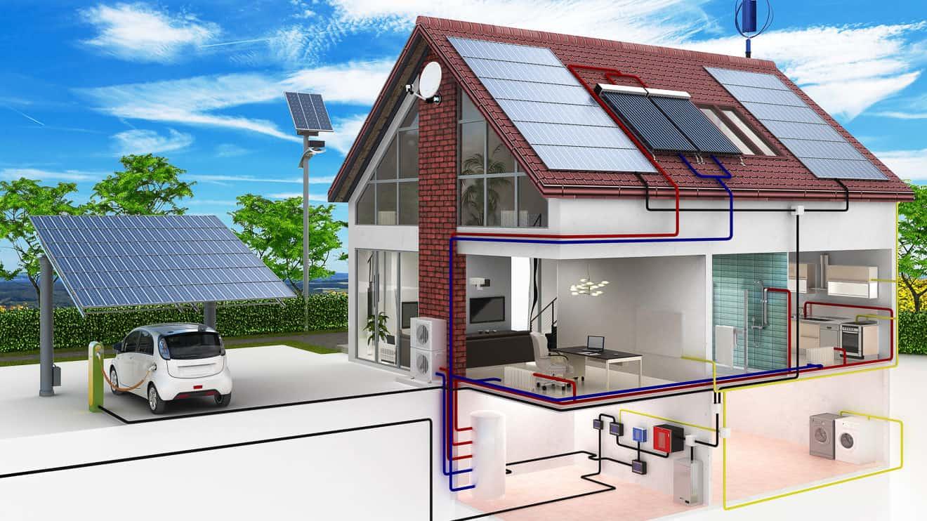 Ökologisches Bauen mit nachhaltigem Energiekonzept
