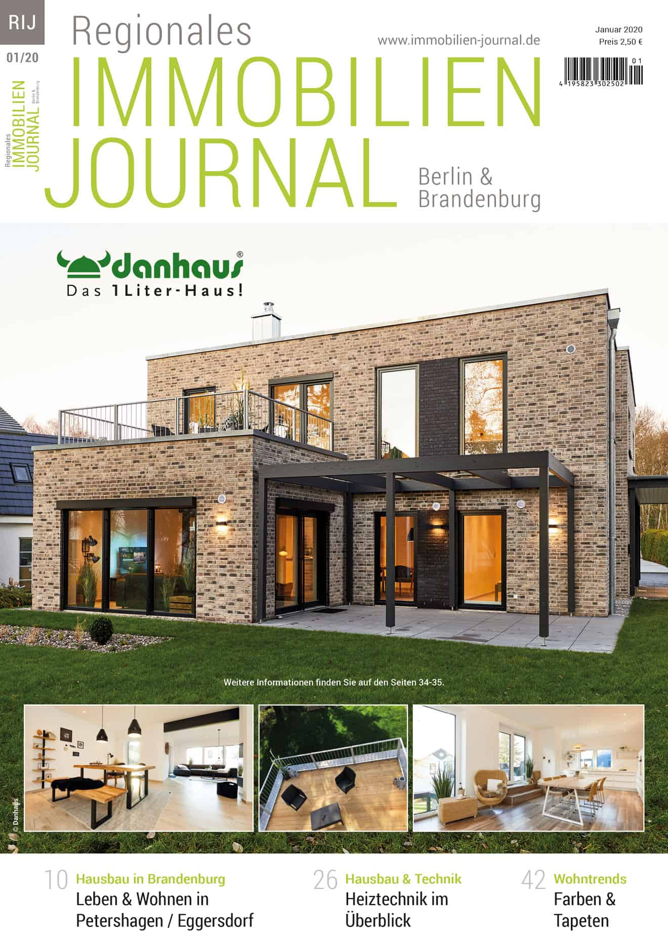 Regionales Immobilien Journal Berlin & Brandenburg 01-2020