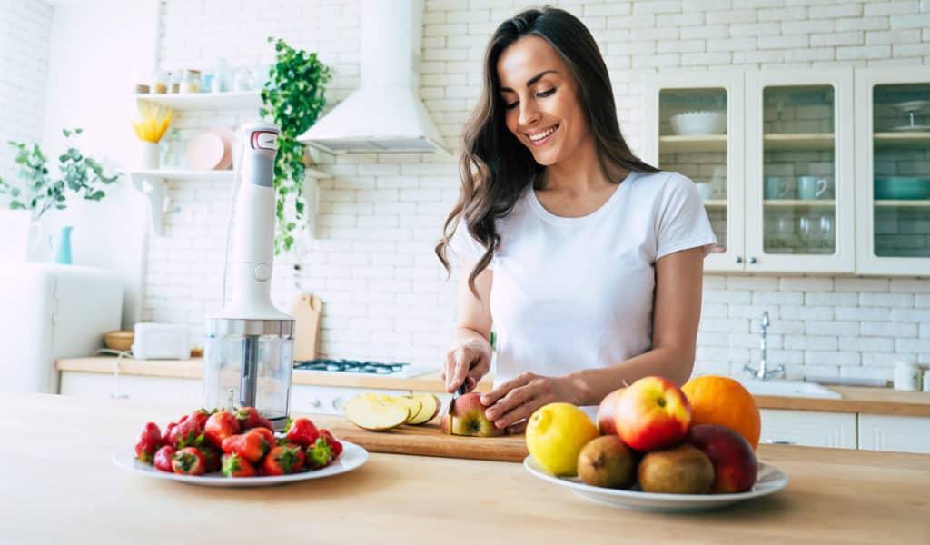 Ergonomische Arbeitshöhe in der Küche