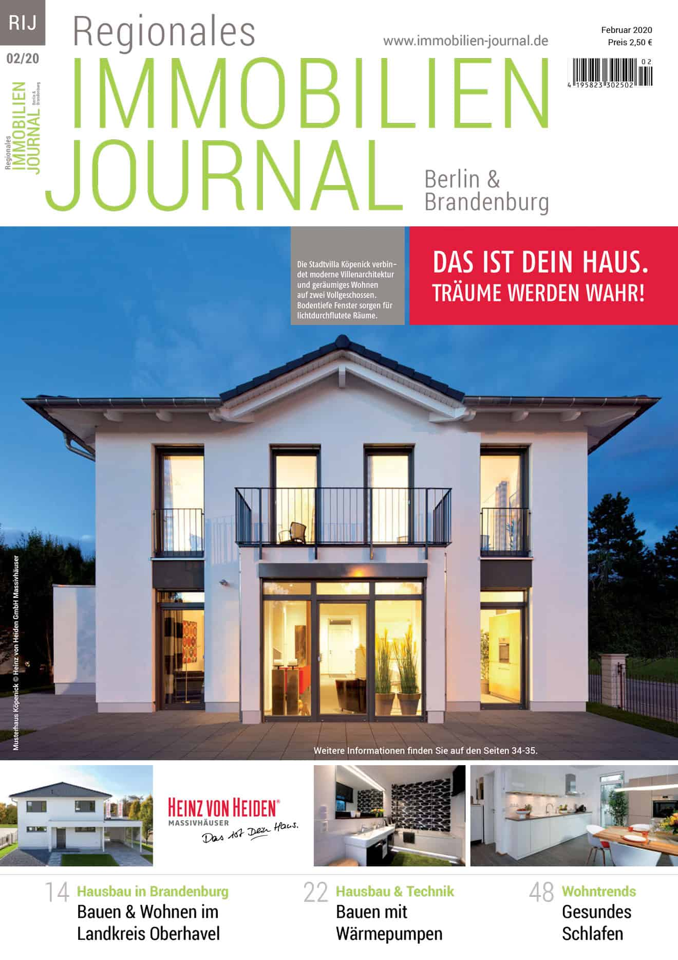 Regionales Immobilien Journal Berlin & Brandenburg 02-2020