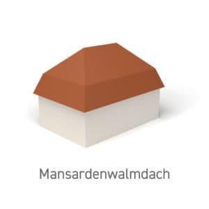 Mansardenwalmdach
