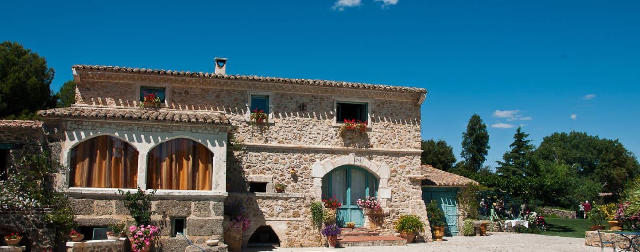 Haus im mediterranen Baustil