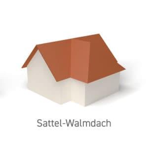 Sattel-Walmdach