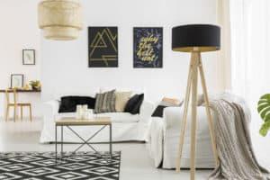 Wohnen und Einrichten im skandinavischen Stil