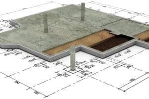 Fundament und Bodenplatte