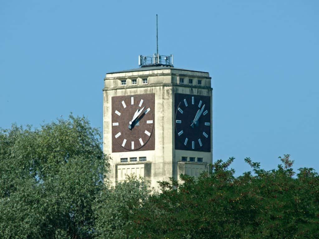 Uhrenturm/Wasserturm des Nähmaschinenwerkes Wittenberge