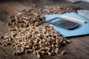 Kostenvorteile für Holzpellets
