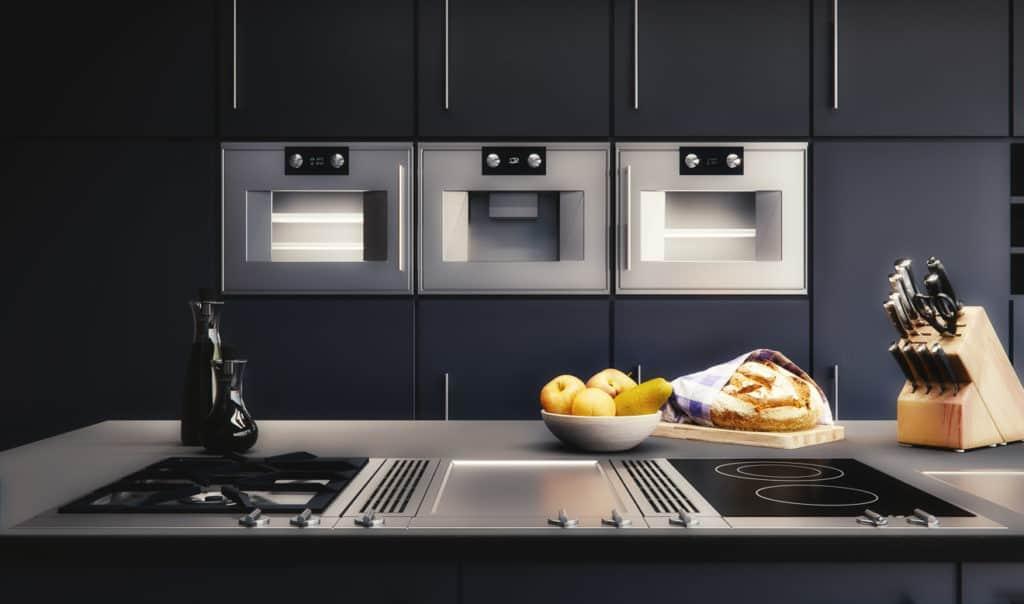 Planung der Kücheneinbaugeräte