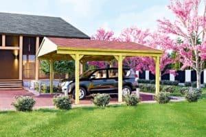 Carports - Allwetter-Schutz für das Auto