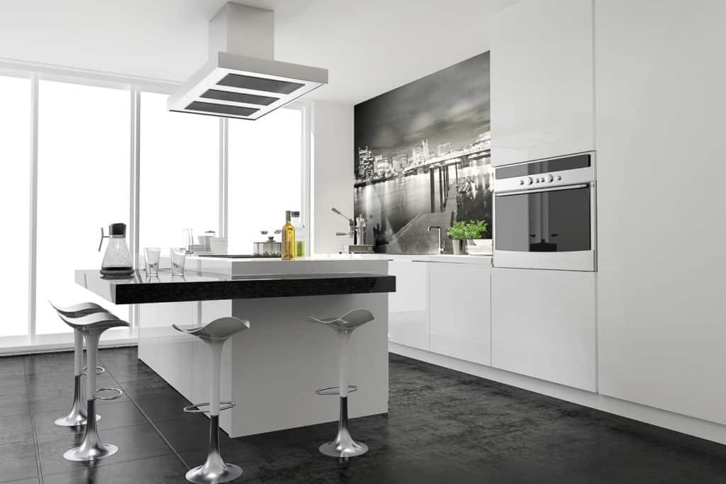 Dunstabzugsbaube für die Kücheninsel