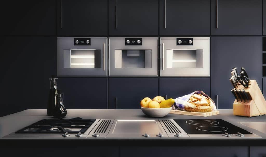 Downdraft - die moderne Art der Abluftanlage in der Küche