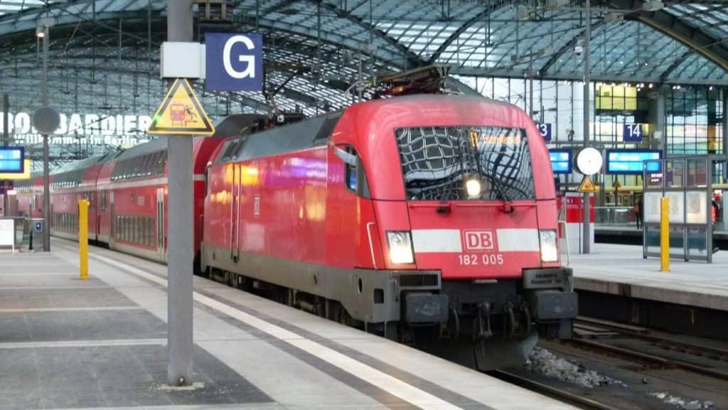 RE1 nach Eisenhüttenstadt