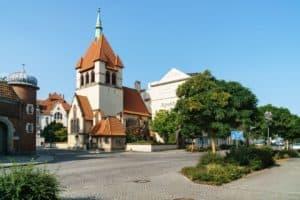 Kirche des guten Hirten, Straupitzstraße 1 in Guben