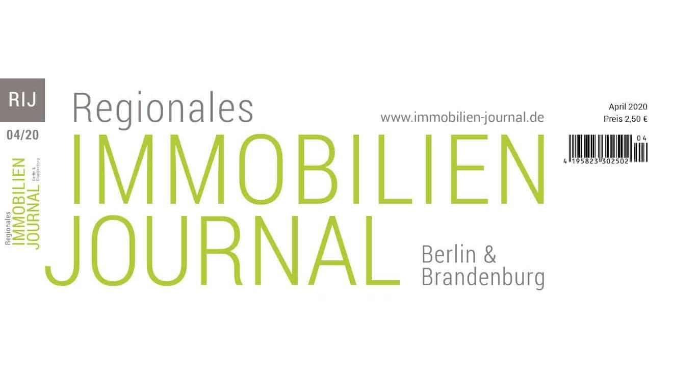 Regionales Immobilien Journal Berlin & Brandenburg April 2020