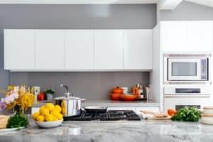 Abfalltrennung in der Küche
