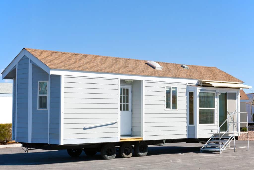 Ein komplettes Haus als Modulhaus